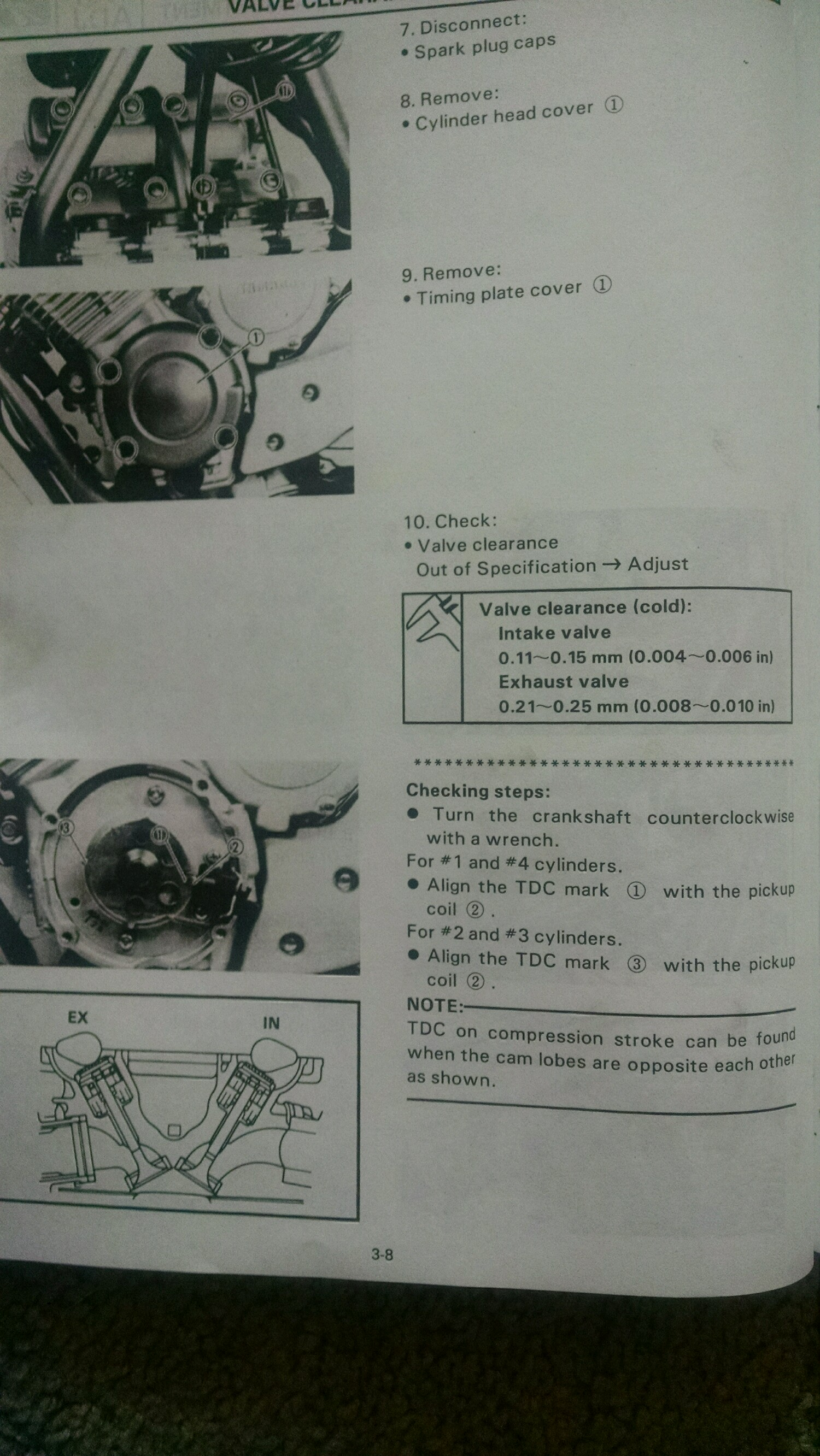 How To: Valve Clearance and Adjustment - XJRider com