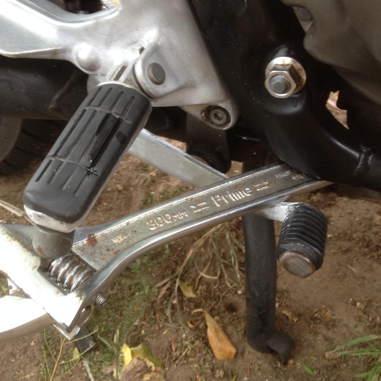 Bleeding Rear Brake Caliper  - XJRider com