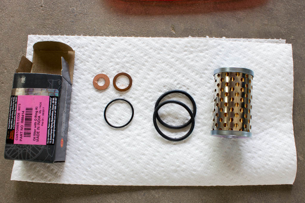 How to Change Your Engine Oil - Royal Enfield Classic 500 EFI