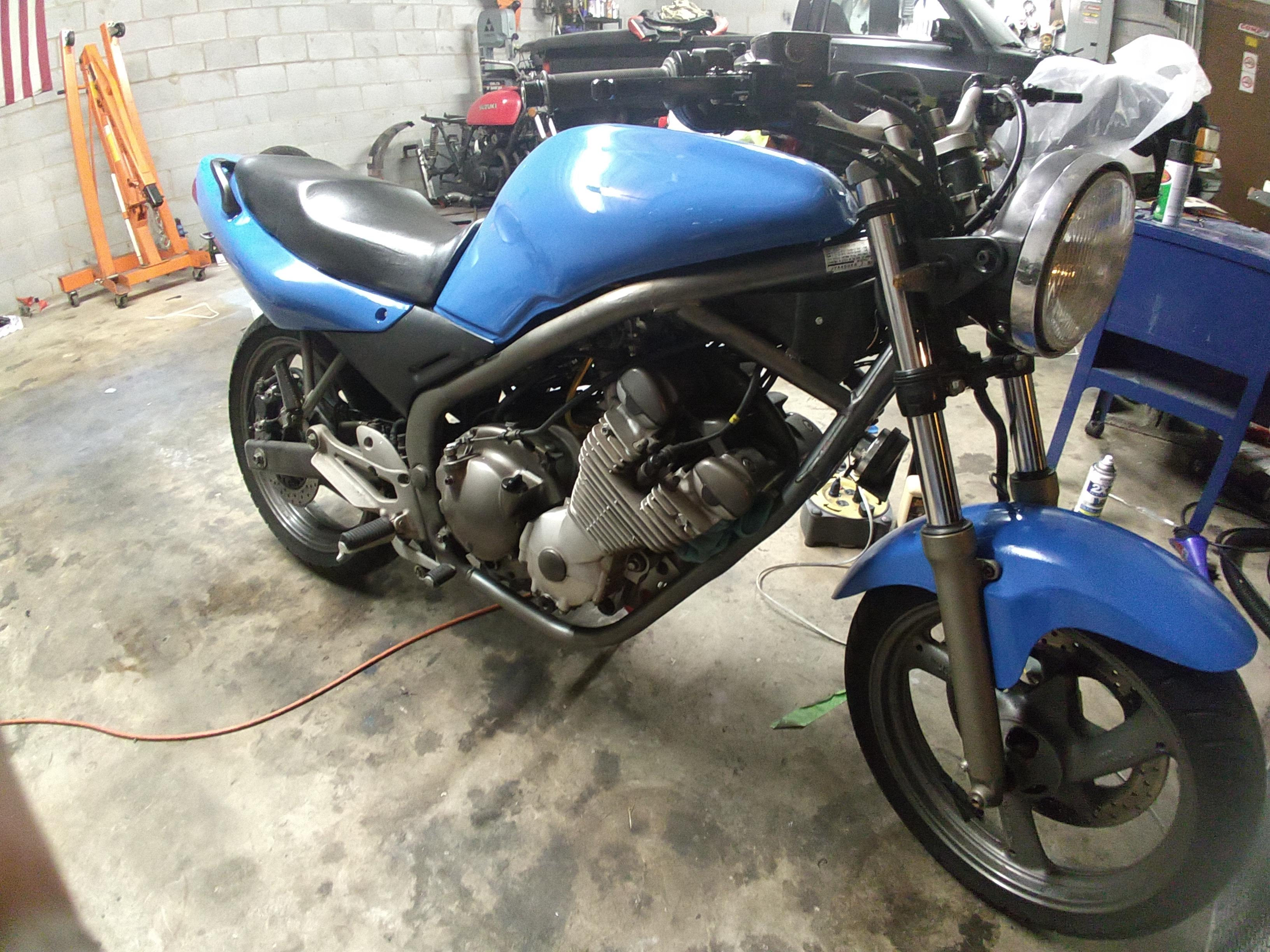 Project SONAR - My 1992 naked conversion - XJRider.com